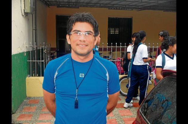 Alexander Díaz, Recreación y Deportes  I.E. La Inmaculada de Montería.