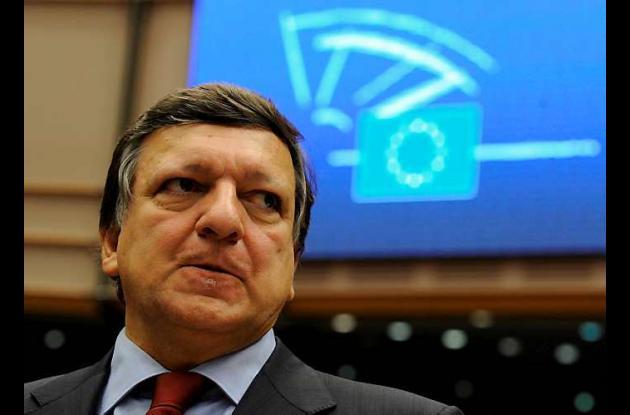 José Manuel Barroso, presidente de la Comisión Europea.