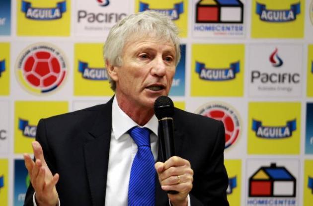 José Pekerman, director técnico de la selección Colombia.