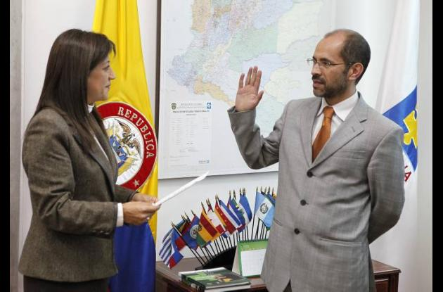 José Ricardo González, nuevo vicefiscal general