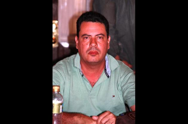 José Miranda Barrios, alcalde de El Guamo.