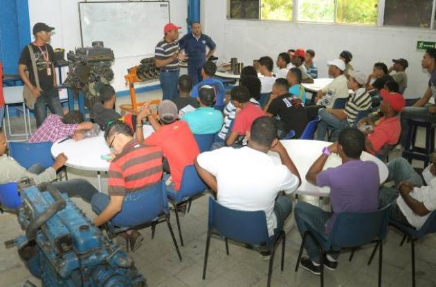 Jóvenes en riesgo de Olaya Herrera