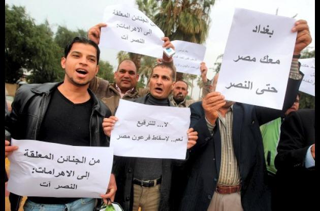 Jóvenes, artífices de protesta en Medio Oriente