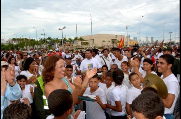 Serenata a Cartagena en sus 478 años de fundación.