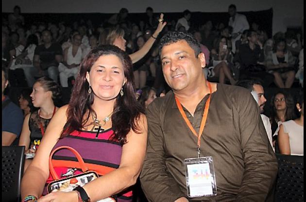 Pilar Luna y Frank Solano.
