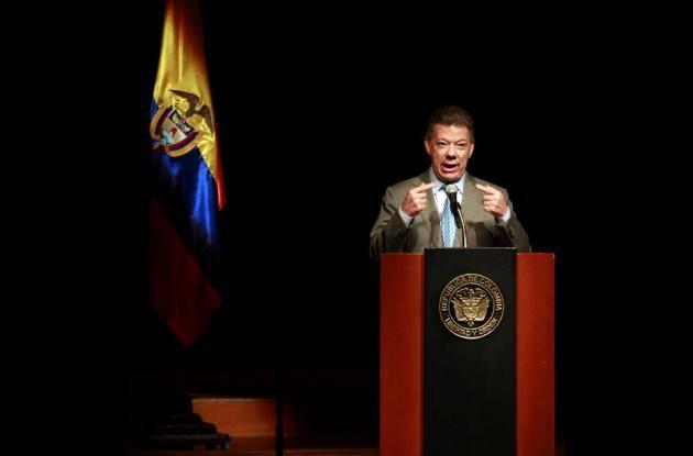 Juan Manuel Santos reelección presidencial