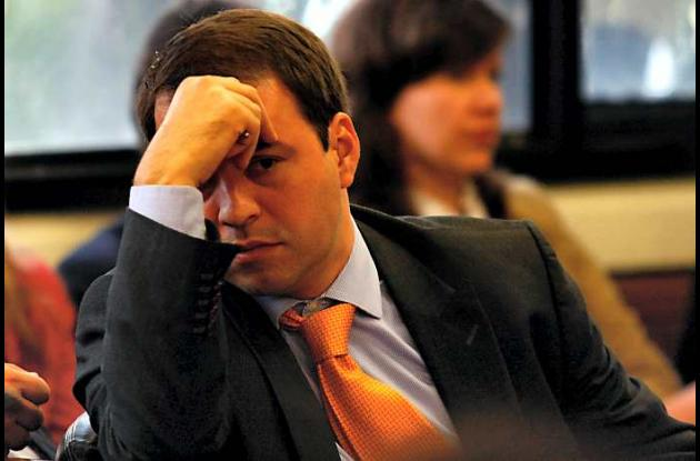 El exviceministro de Agricultura, Juan Camilo Salazar