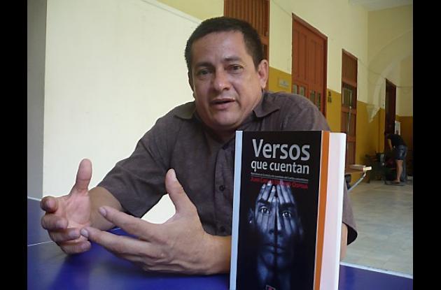 Juan Carlos Urango, lingüista de la Universidad de Cartagena.