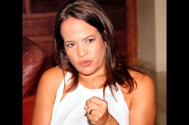 Judith Pinedo Flórez, alcaldesa de Cartagena.