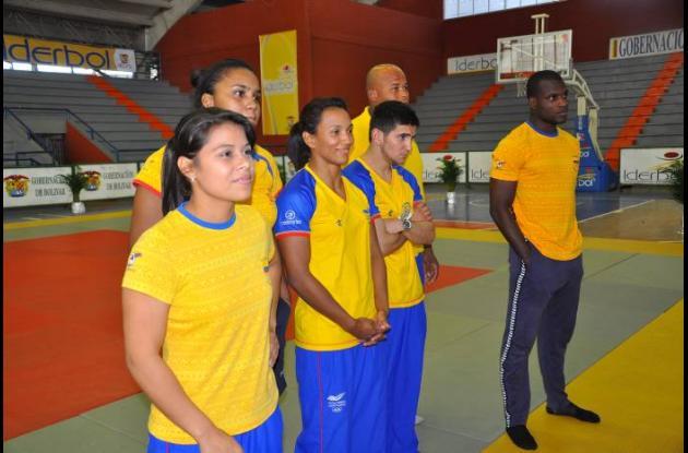 Selección Colombia de judo.