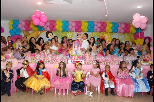 Cumpleaños de Julieta Valentina Villarraga