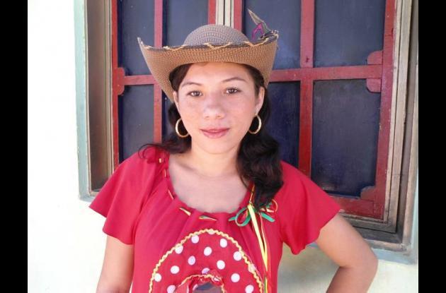 Julieth Pérez Osorio, concursante.