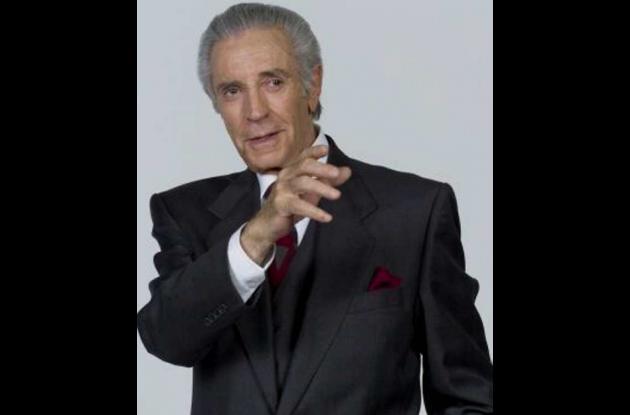 Julio Alemán, actor mexicano de la vieja guardia, enfermo de cáncer.