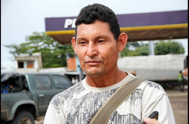 Julio Mercado, víctima.