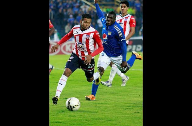 En el estadio Nemesio Camacho El Campín, Millonarios empató 0 - 0 con Junior. En