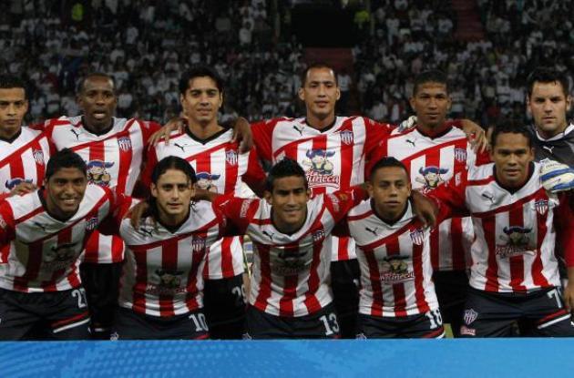 El campeón Junior de Barranquilla se apresta para la Copa América 2012.