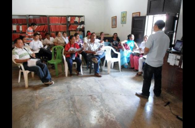 jurados de votaciones en El Carmen de Bolívar.