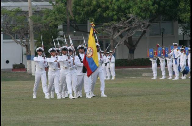 La Armada Nacional tendrá 136 nuevos cadetes