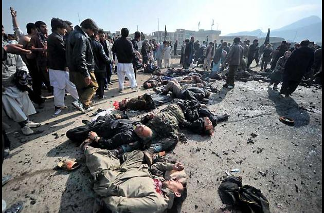 Atentado en Kabul.