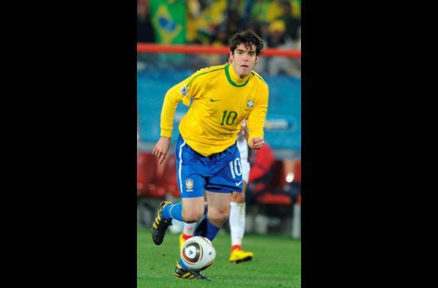 Kaká, jugador de Brasil.