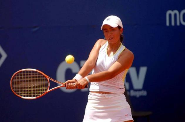 La tenista Karen Castiblanco