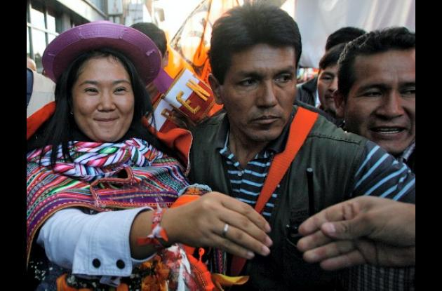Se calienta campaña presidencial en Perú.