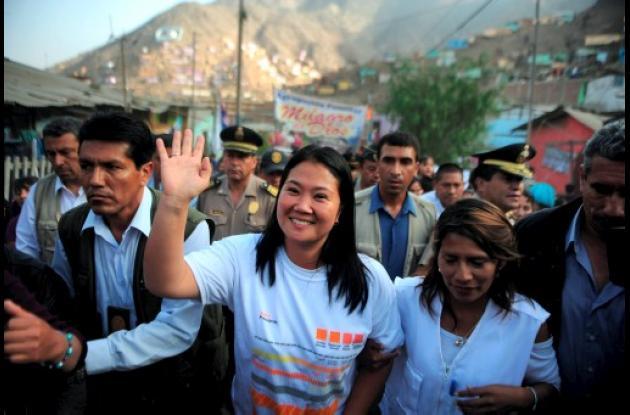 Keiko Fujimori disputará la presidencia con Ollanta Humala.