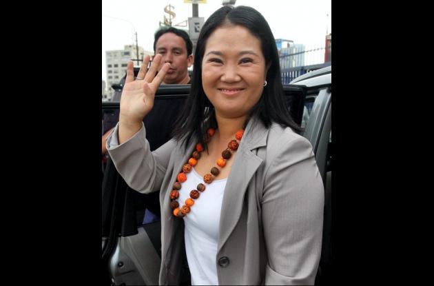 Keiko Sofía Fujimori, hija de exmandatario de Perú Alberto Fujimori.