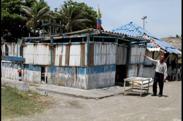 Kiosco en El Laguito