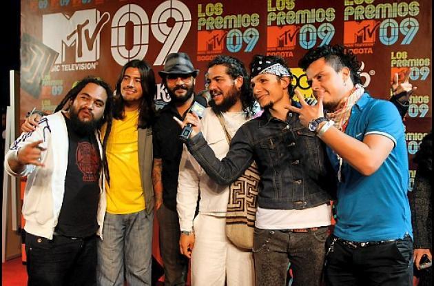 Integrantes de la banda Dr. Krápula.