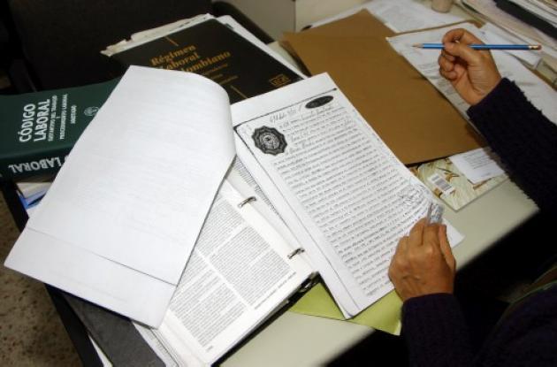Descongestión judicial cartagena laboral