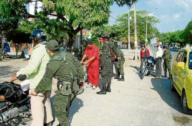 Se incrementaron los operativos de seguridad en Montería.