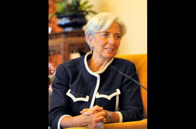 Christine Lagarde, ministra francesa de Economía y candidata favorita para ocupa