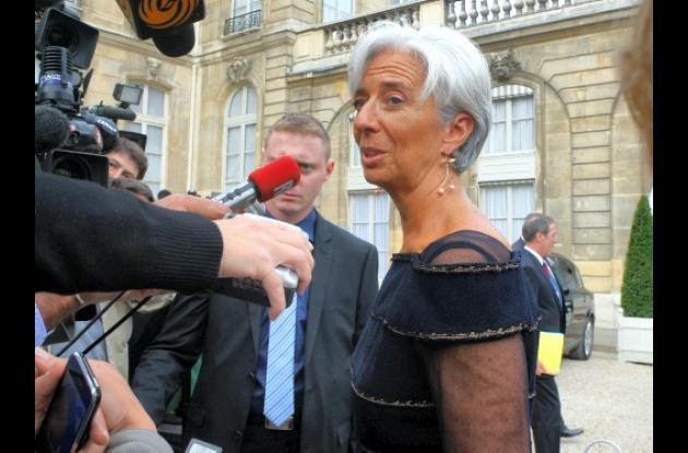 Christine Lagarde, nueva directora del FMI: