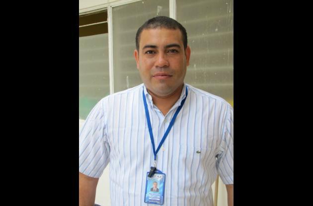Wilder Lagares, gerente de la ESE Municipio de Magangué.
