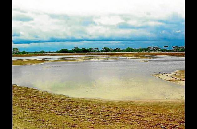 Laguna de oxidación del norte de Montería.