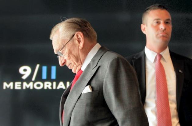Larry Silverstein, promotor inmobiliario que acababa de arrendar las torres.]