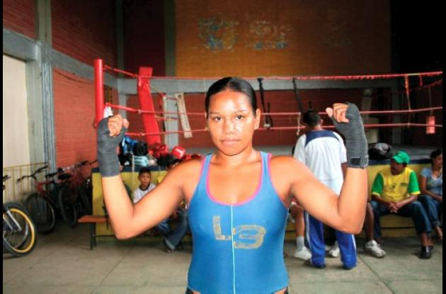 boxeadora colombian