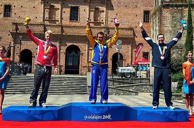 Colombia, con Leonardo Páez, se cuelga primer oro en Panamericanos.