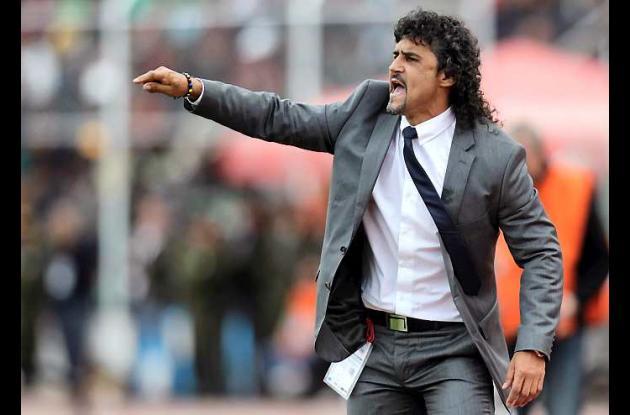 Leonel Álvarez, técnico de la selección Colombia de fútbol.