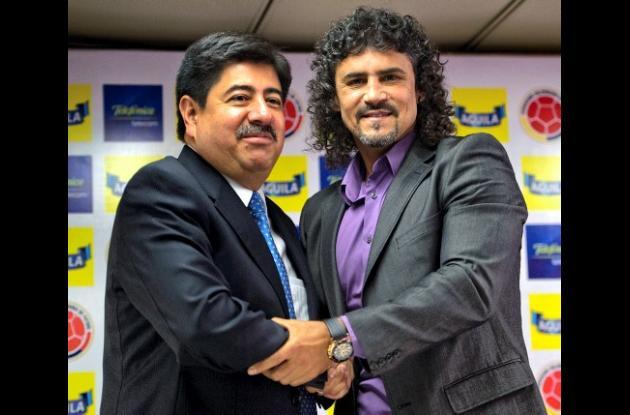 Leonel Álvarez fue nombrado en propiedad técnico de la selección Colombia de may