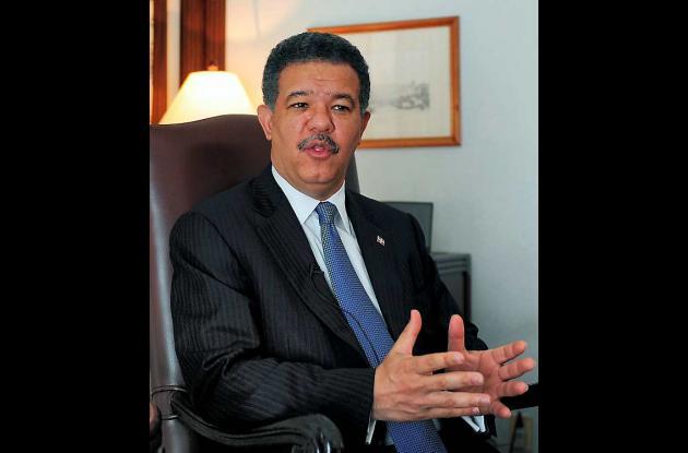 Leonel Fernández, presidente de República Dominicana