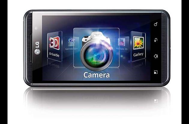 El  Optimus 3D de LG es el primer teléfono inteligente que ofrece una experienci
