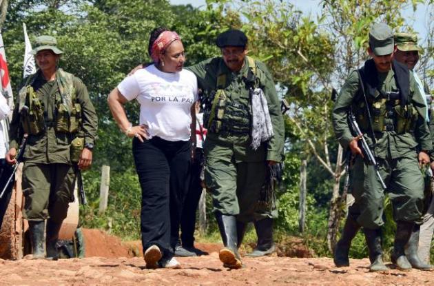Piedad Córdoba hace parte de la misión humanita que trae a la libertad a Romeo L