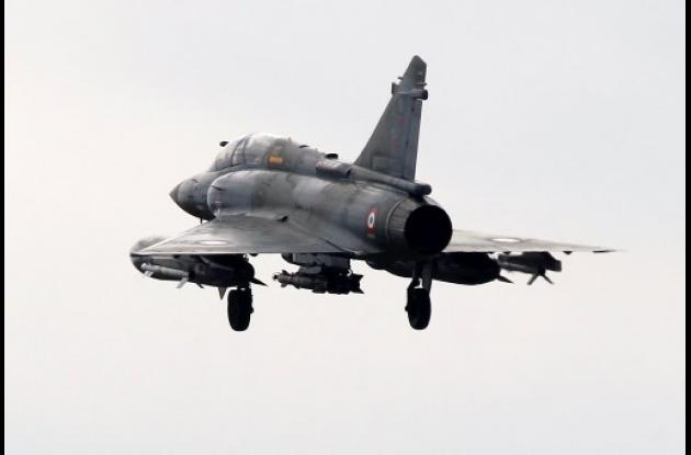Bombardeos en Libia.