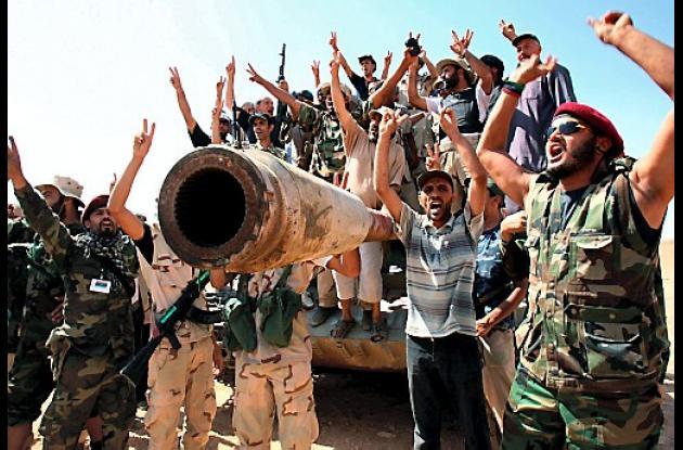 Rebeldes libios.