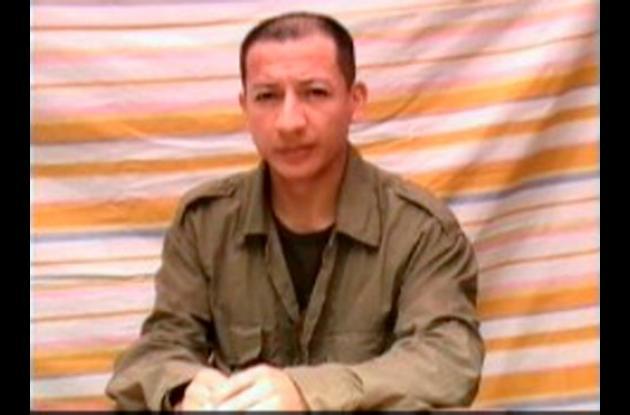 El sargento viceprimero Libio José Martínez fue secuestrado el 21 de diciembre d