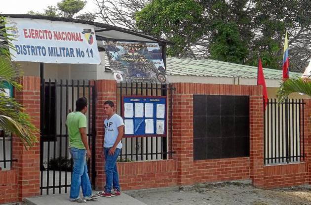 Libretas militares en Sucre