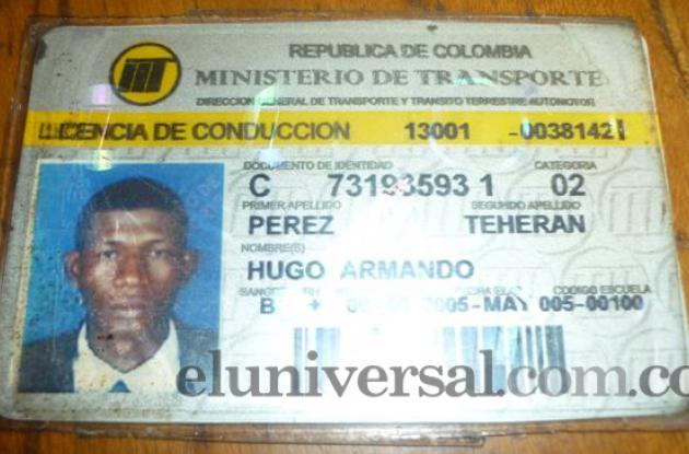 Dayro Martínez, agente agredido por taxista