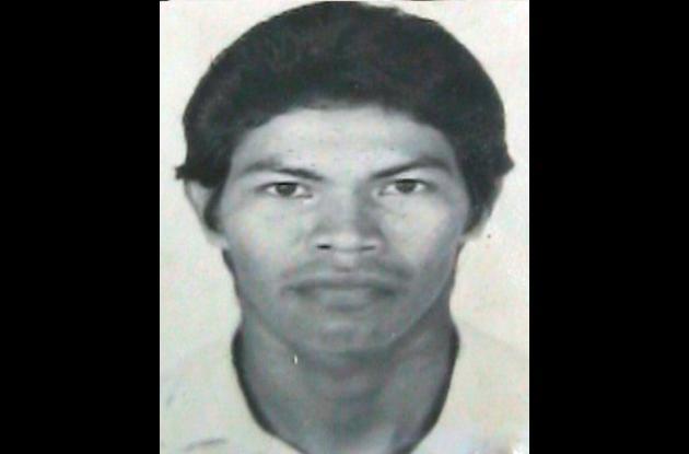 José Gaspar, líder indígena asesinado en Córdoba.